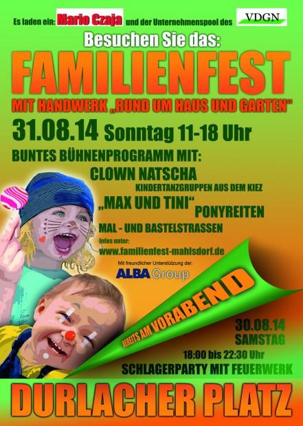 Einladung Familienfest