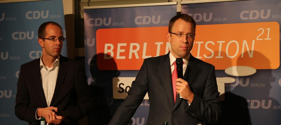 """""""Wie wünsche ich mir meine Stadt und meinen Kiez?"""" Diese Frage stand im Mittelpunkt der Bürgerkonferenz der CDU Berlin am 04.11.2014 im Rahmen des Zukunftsdialogs """"BERLINVISION21 - So will ich leben."""""""
