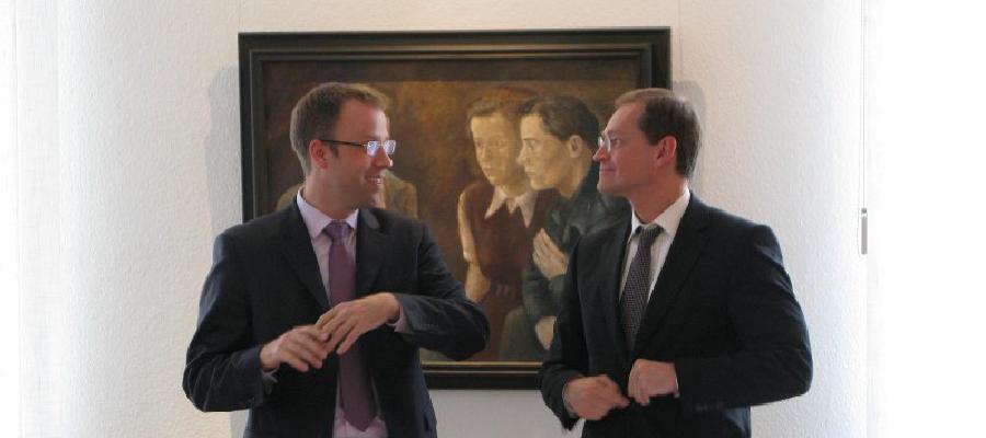Dialog Wuhletal mit Senator Michael Müller