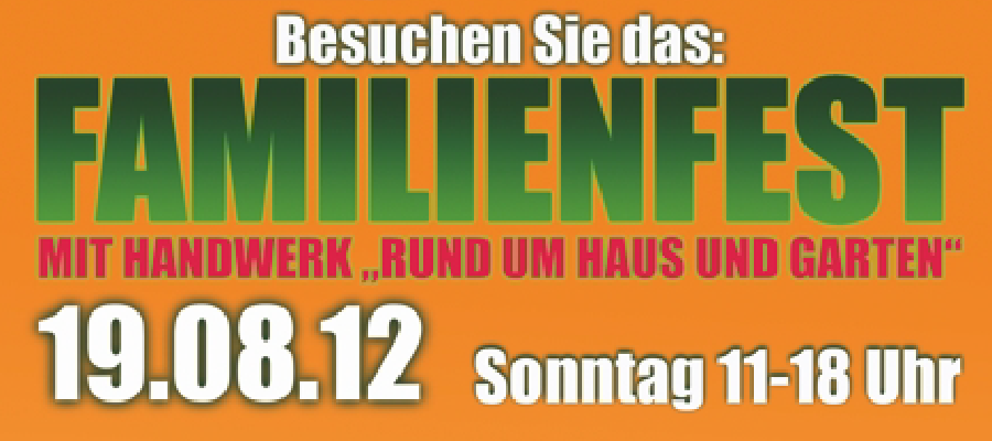 Traditionelles Familienfest 2012 auf dem Durlacher Platz