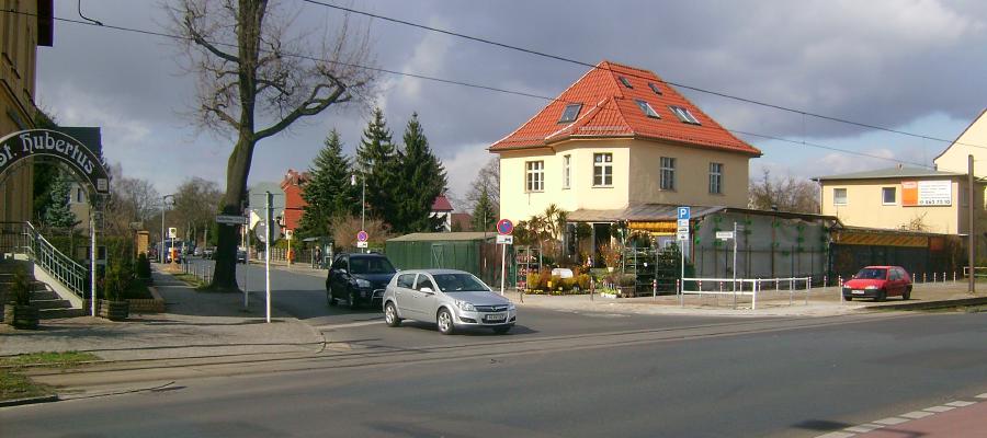 Ampelanlage an der Einmündung Hultschiner Damm/ Kohlisstraße ist Teil des Bauprogramms 2012/2013.
