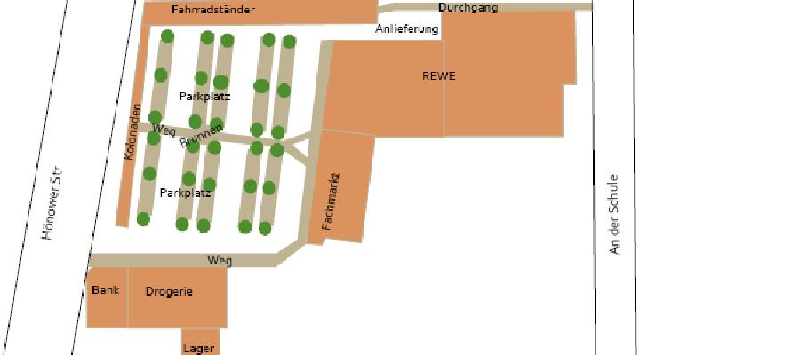 Vorstellung Bebauungsentwurf neuer REWE