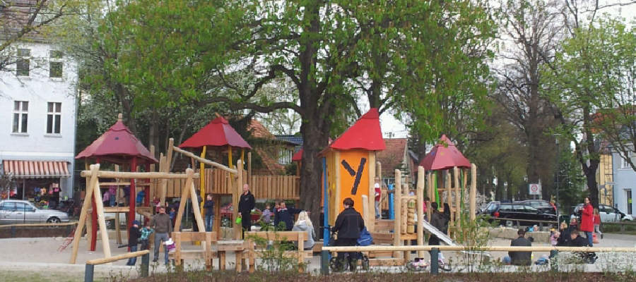 Neugestaltung des Spielplatzes auf dem Wilhelmplatz abgeschlossen