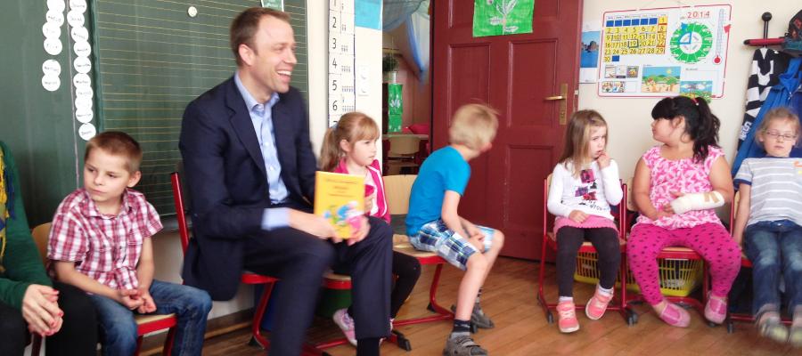Vorlesetag in der Ulmen-Grundschule