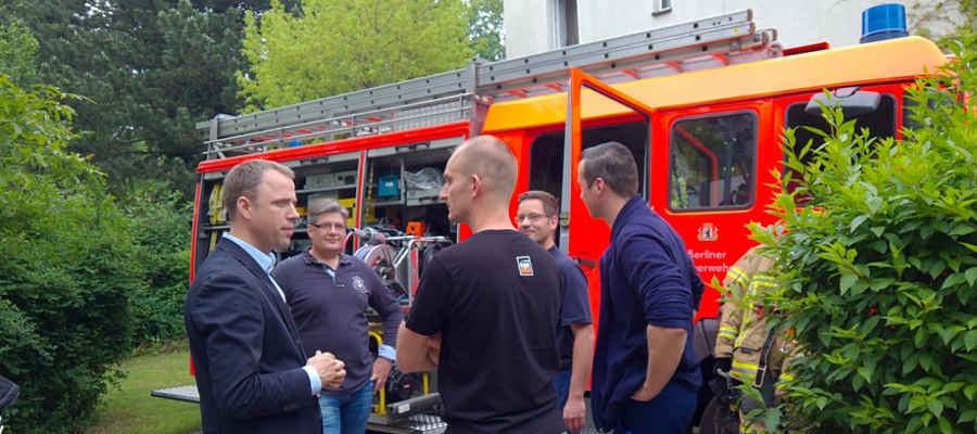 Freiwillige Feuerwehr Mahlsdorf braucht mehr Platz