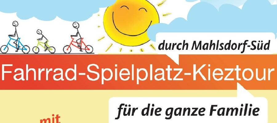 Fahrrad-Spielplatz-Kieztour durch Mahlsdorf-Süd