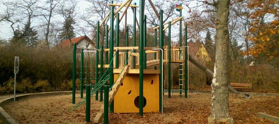 Kinderspielplatz auf dem Ullrichplatz wurde ausgebaut