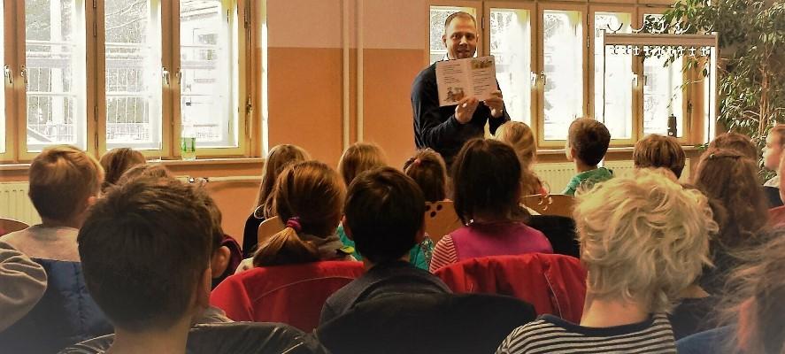 Vorlesetag in der Mahlsdorfer GS und Kaulsdorfer Ulmen-Grundschule