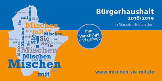 Den Bürgerhaushalt 2018/2019 für Mahlsdorf & Kaulsdorf nutzen