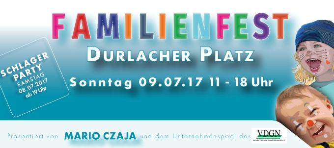 18. Familienfest auf dem Durlacher Platz am 09.07.2017