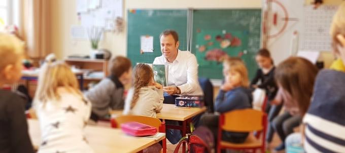Beginn der Vorlesewoche – Start in der BEST-Sabel-Grundschule Mahlsdorf