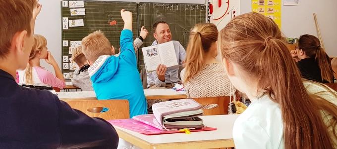 14. Vorlesetag – Mein Besuch in Mahlsdorfer Schulen und Kitas