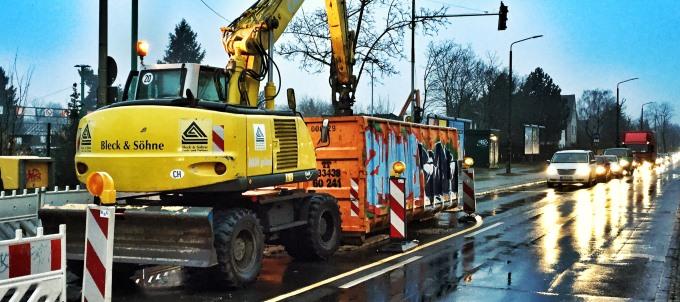 Sachstand zur Baumaßnahme Pilgramer Straße und Hultschiner Damm/Rahnsdorfer Straße