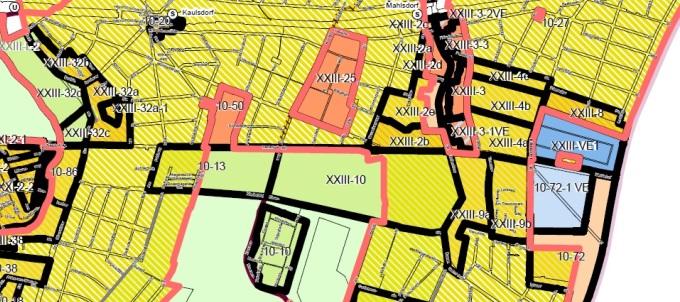 Bürgerbeteiligungen für zwei Bebauungspläne für Mahlsdorf starten
