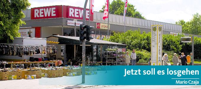 REWE baut – Lidl stoppt