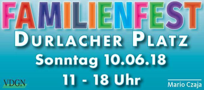 Unser Familienfest auf dem Durlacher Platz ist zu einer festen Größe im gesellschaftlichen Leben Mahlsdorfs geworden und ein wichtiger Höhepunkt im Jahr. In diesem Jahr findet das 19. Familienfest am Sonntag, den 10. Juni 2018, von 11.00 bis 18.00 Uhrstatt. Wie in den vergangenen Jahren auch, werden wir amVorabend, den 09. Juni, ab 19.00 […]