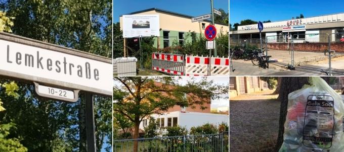 UPDATES Lemkestraße ** Wertstofftonne ** REWE Bau **  Kitaplätze