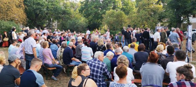 Bericht zur Anwohnerversammlung auf dem Wilhelmplatz in Kaulsdorf