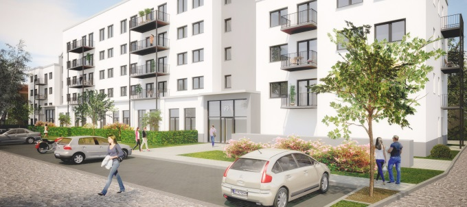 Wohnbauprojekt Münsterberger Weg 91-95