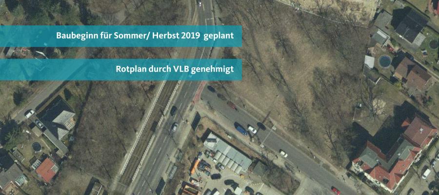 Update: Baustart für Ampel Rahnsdorfer Straße/ Hultschiner Damm im Sommer/ Herbst 2019