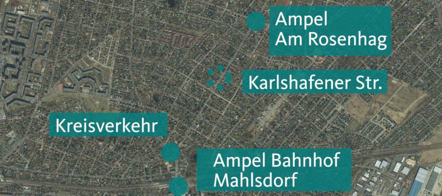 Senat erteilt Ampel Hönower Straße/ Karlshafener Straße eine Absage