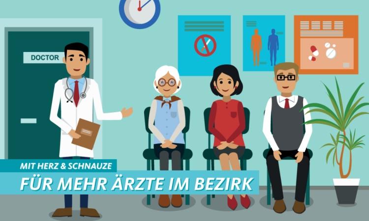 Mehr Ärzte für den Bezirk