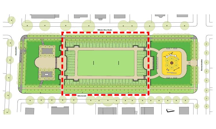 Der letzte Schritt der Sanierung des Ullrichplatzes hat begonnen. Zum Ende des Jahres sollen alle Maßnahmen abgeschlossen sein und der gesamte Platz damit denkmalgerecht hergerichtet sein.