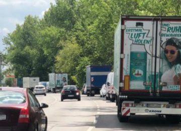 Bitte mithelfen: Keine LKW's ins Wohngebiet!