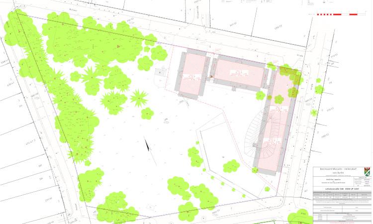 Planung für Container Lehnitzplatz