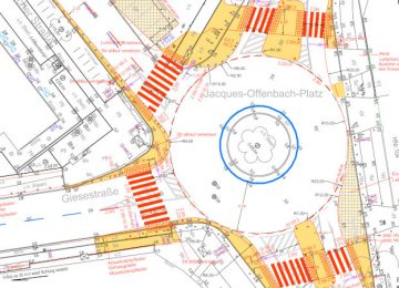Senat verzögert Umbau Jaques-Offenbach-Platz