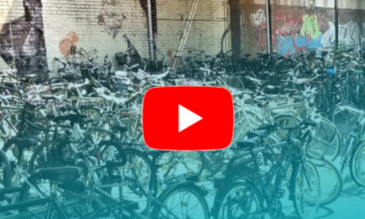 Parkhaus für Fahrräder