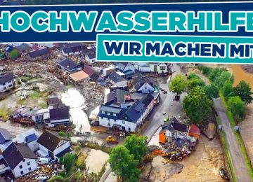 Hochwasserhilfe – Wir machen mit!
